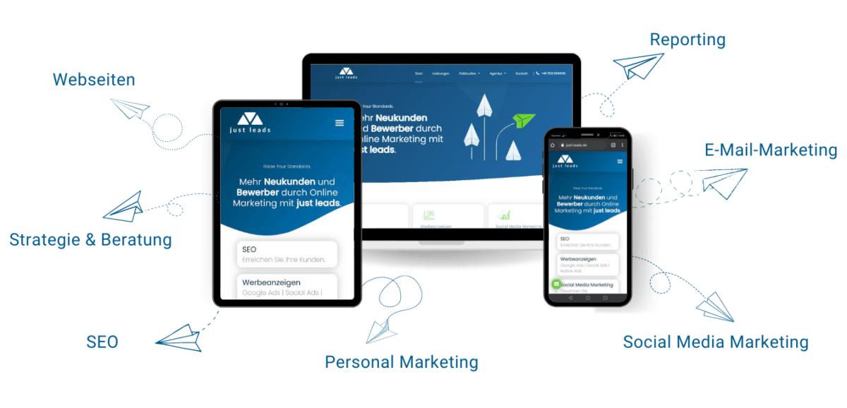 Online Marketing Agentur Leistungen
